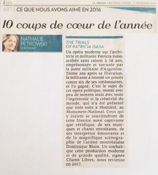 La Presse 7/12/16.JPG