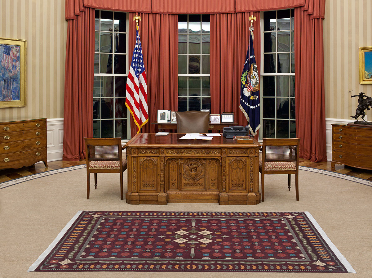 Dans La Maison Blanche